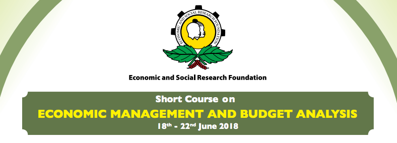 Short Course on Economic Management and Budget Analysis